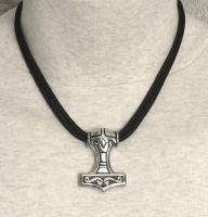 SS Thors Hammer on 850 Paracord Necklace by dlstancel
