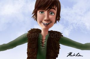 Hiccup Finding You on Valentine's Day by masterrohan