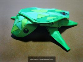 Origami Turtle by DarkUmah