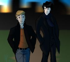 BBC Sherlock by Skulleton