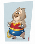 WonderWombat by CamaraSketch