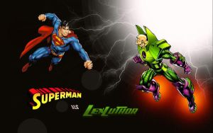 Superman vs Lex Luthor by Superman8193