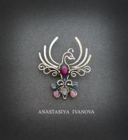 bird brooch by nastya-iv83