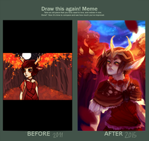 Improvement meme by Simonala