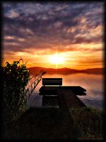 Lonesome bench by 00AngelicDevil00