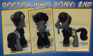 Doctor Who Pony - 2nd Doctor by HeyLookASign