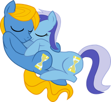 Master{snuggling Minuette} by Peora