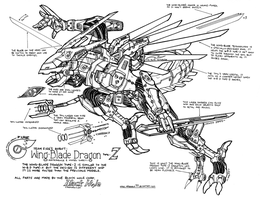 -Wing-Blade Dragon type-Z- by megawolf77
