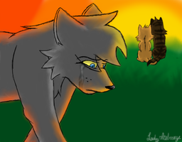 Ashfur's Pain by LadyIcebreeze