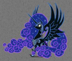 Wind Waker - Nightmare Moon by AWildDrawfagAppears