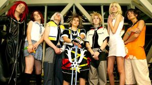 KH cosplay group by lahnee