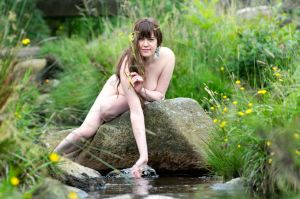 Another Drive in Yorkshire, Water Nymph 3 by darcadium