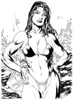 She-Hulk Ink by Ed-Benes