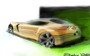 Adidas concept car 2 by STH-pl