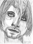 My attempt at kurt cobain by Evil-elz
