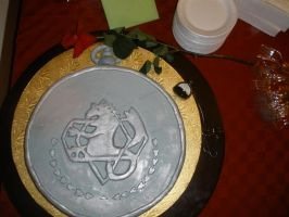 Pocket Watch Cake by Leioll