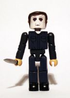 Michael Myers Custom Minimate by luke314pi