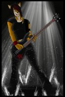 Bandicoot Bassist by Ashy666