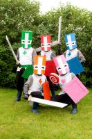 Castle Crashers - Group Cosplay by Jarwes