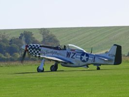 P51 Mustang Awaiting Orders by davepphotographer