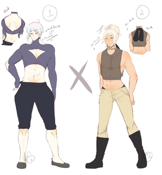 Manly Men adopts 1 (OPEN SET PRICE1/2) by HaLeaHana