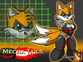 Mecha Tails, MT by SilverenX
