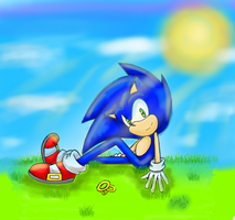 Sonic's paradise by greengirlhedgehog