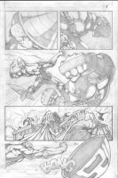 cap vs juggernaut pg1 by VASS-comics