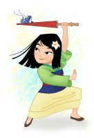 Little Mulan by sosisk86