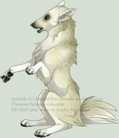 Wolfhome Pose by Ramala