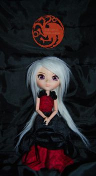 Daenerys Targaryen (Song of ice and Fire) Doll by KeiKo-Ran