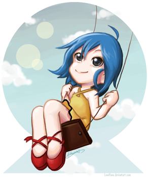 ::SWING in the SKY:: by LoneHana