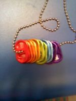 Rainbow Tab Necklace by SonicDragon88