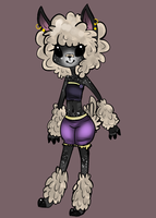 sheep girl adoptable [CLOSED] by z-o-k-i