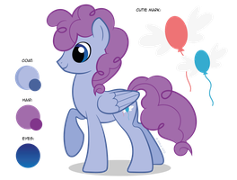 Adoptable Auction: Bubbly Blue by ShilaDaLioness