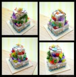 Underwater Cake by SmallCreationsByMel
