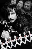 Three Days Grace Poster by BlackTrinity4277