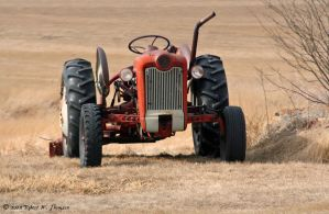 Red Tractor by hunter1828