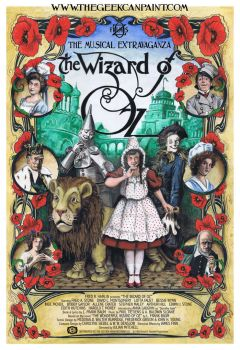 1903 Wizard of Oz poster by TheGeekCanPaint