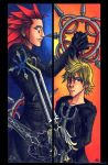 Axel and Roxas Bookmark Set by psycrowe