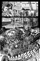 The Darkness II Contest Inked Page by NRGart7