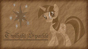 Twilight Sparkle - Old Parchment by Jamey4