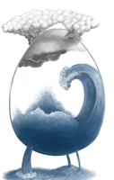 Storm egg by knozos