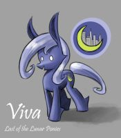 Viva Last of the Lunar Ponies by CyberToaster