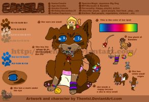 Canela's Ref by DholeSoul
