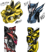 TFP Doodles by Zaquinni