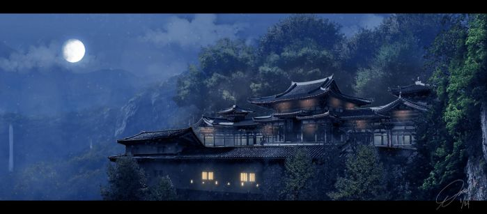 The Silent Temple by illtrytobeapro
