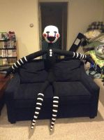 FNAF Marionette Plush by MJDIllusion