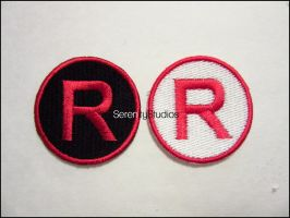 Team Rocket Patches by Serenity-Sama