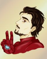 Tony Stark by frafru